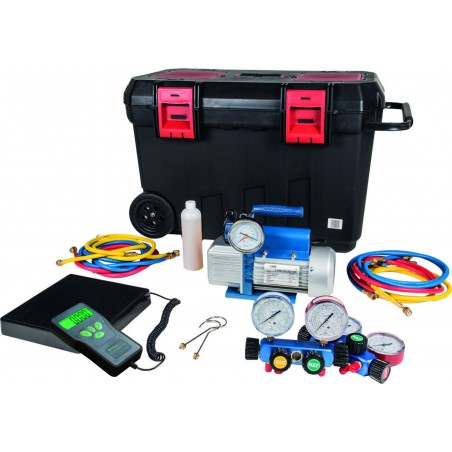 Vacuum and charging system kit 70/100 - 4-way for R22-134